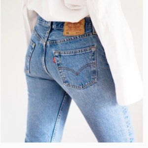 Vintage 501 Levi's 30 Plus Yrs Old USA Made